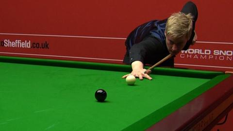 Neil Robertson's 'magnificent' 137 break at the Crucible