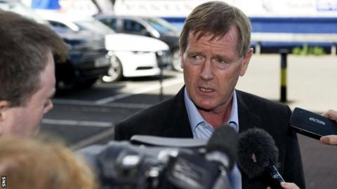 Dave King in Glasgow