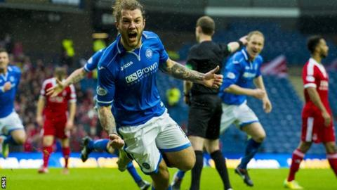 Stevie May scores in semi-final