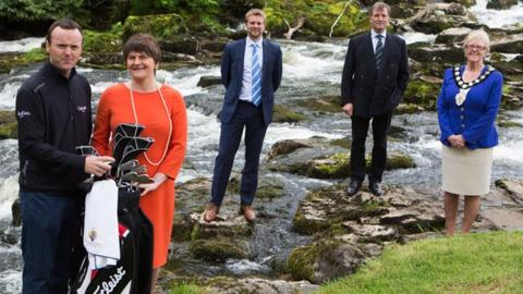Launch of the Northern Ireland Open
