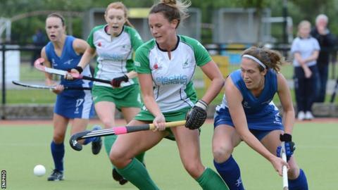 Ireland's Nicola Evans