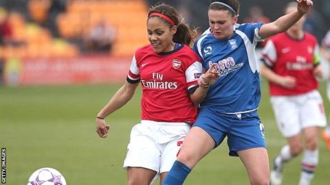 Arsenal Ladies v Birmingham Laides