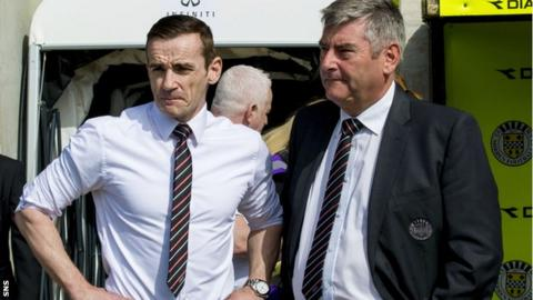Danny Lennon with Stewart Gilmour