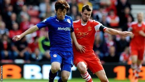 Cardiff City's Kim Bo-kyong