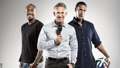 BBC World Cup team
