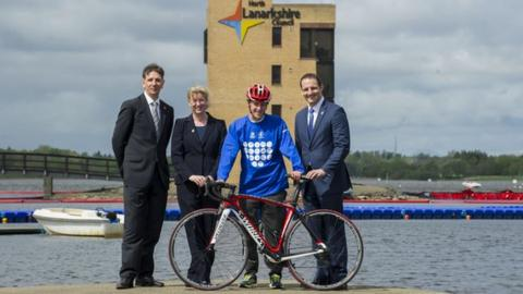 Strathclyde Park will host the Glasgow 2014 triathlon