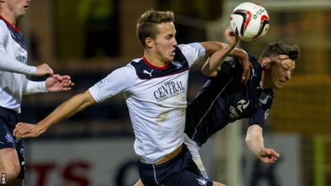 Falkirk defender Will Waulks