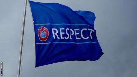 Uefa respect flag