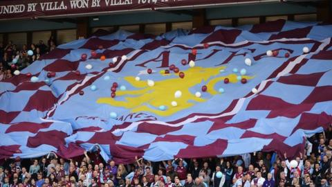 Aston Villa: Owner Randy Lerner puts club up for sale - BBC