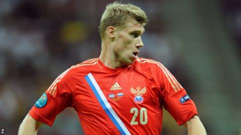 Reading and Russia striker Pavel Pogrebnyak