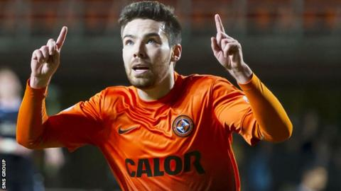 Dundee United's Ryan Dow