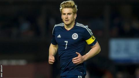 Scotland U21 captain Stuart Armstrong