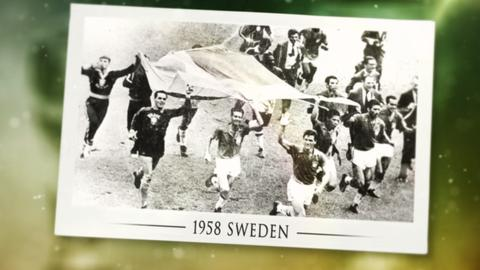 The story of the 1958 & '62 World Cups