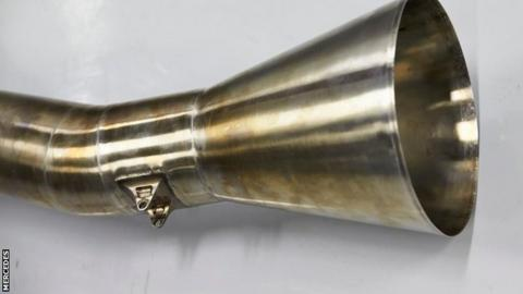 The new trumpet exhaust being trialled by Mercedes as debate over noise continues