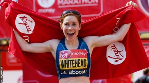 London Marathon, Amy Whitehead