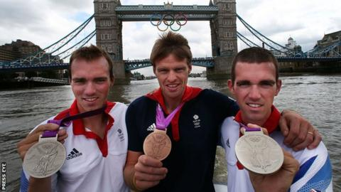 Alan Campbell and brothers Richard and Peter Chambers have all been named in the GB rowing team for the European Championships