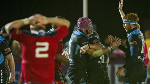 Glasgow host Munster for a place in the Pro12 final