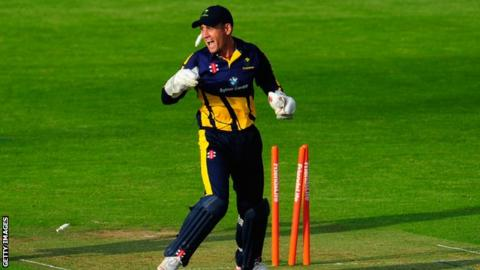 Mark Wallace of Glamorgan