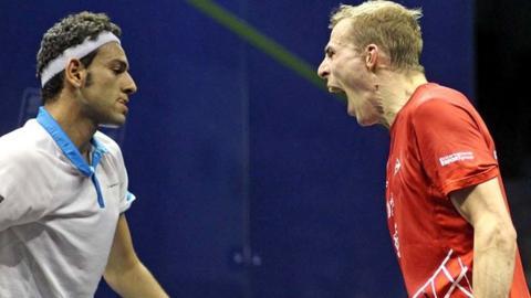 Mohamed Elshorbagy and Nick Matthew