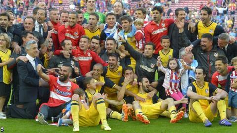 Barcelona v Atletico Madrid