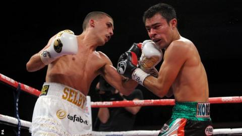 Lee Selby (left) and Romulo Koasicha