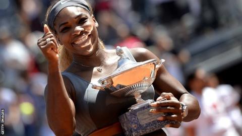 Serena Williams wins Italian Open in Rome