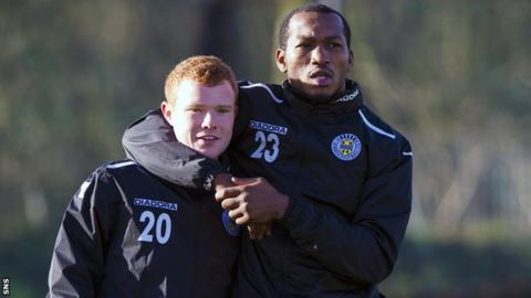 Adam Campbell and Eric Djemba-Djemba