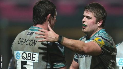 Louis Deacon and Ed Slater