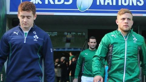 Paddy Jackson and Ian Madigan