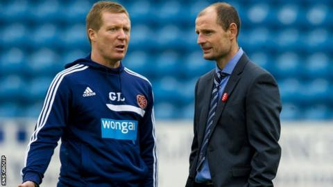 Gary Locke (left) will work with Allan Johnston next season
