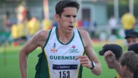 Lee Merrien running for Guernsey