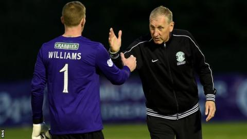 Ben Williams and Terry Butcher