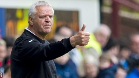 Dunfermline manager Jim Jefferies