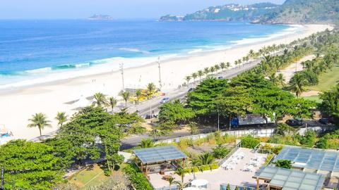 Praia de Fora, one of Rio's most secluded and beautiful beaches