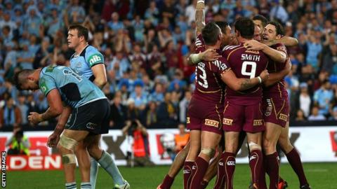 New South Wales are downhearted as Queensland celebrate