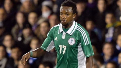 Lazio and Nigeria's Ogenyi Onazi