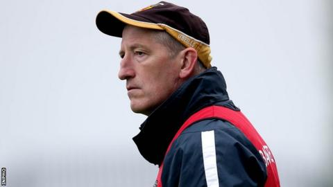 Antrim hurling manager Kevin Ryan