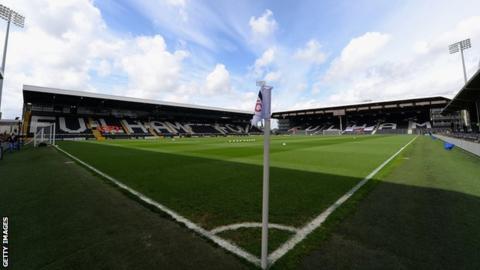Fulham's Craven Cottage ground