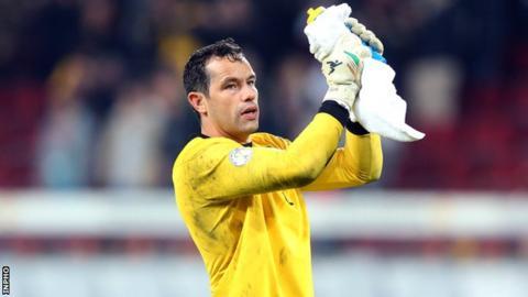 Republic of Ireland goalkeeper David Forde