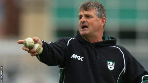 Worcestershire director of cricket Steve Rhodes