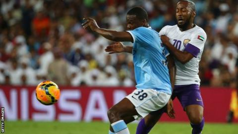 Manchester City defender Dedryck Boyata.