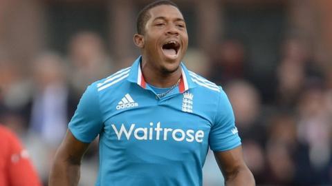 England's Chris Jordan
