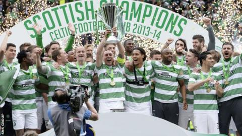 Celtic have been Scottish champions for three years running