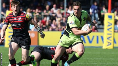 Northampton Saints winger George North is a potential matchwinner in the Premiership final, says Jeremy Guscott
