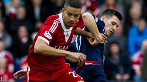 Hector spent six months on loan at Pittodrie