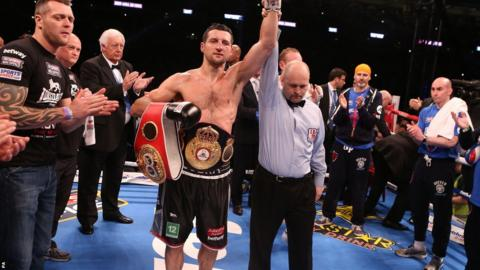There was no doubt about the winner this time as Carl Froch was declared a world champion yet again