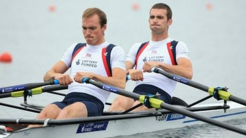 Peter and Richard Chambers are through to the final at the World Rowing Cup event in France