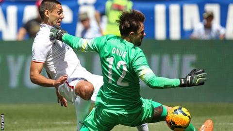 USA warm up for World Cup with 2-1 win against Turkey