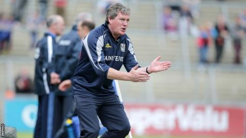 Cavan manager Terry Hyland looking forward to Sunday's Ulster SFC tie with Armagh