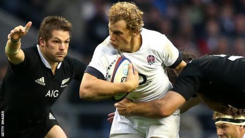 Billy Twelvetrees against New Zealand